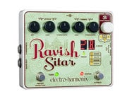 Electro-Harmonix RAVISH-SITAR-PEDAL Sitar Emulator Pedal for Guitar, PSU Included
