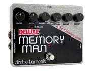 Electro-Harmonix DELUXE MEMORY MAN Analog Delay/Chorus/Vibrato Pedal, PSU Included