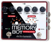Electro-Harmonix DELUXE MEMORY BOY Analog Delay Pedal with Tap Tempo, PSU Included DELUXEMEMORYBOY