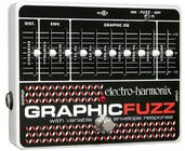 Electro-Harmonix GRAPHIC-FUZZ EQ/Distortion/Sustainer Pedal, PSU Included GRAPHICFUZZ
