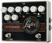 Electro-Harmonix LESTER-G Lester G Deluxe Stereo Rotary Speaker Emulation Pedal with Built-In Compressor