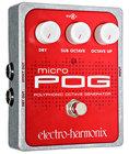Electro-Harmonix MICRO-POG, Pedals & Effects