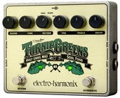Electro-Harmonix TURNIP-GREENS Turnip Greens Soul Food Overdrive/Distortion and Holy Grail Reverb Effects Pedal