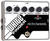 Electro-Harmonix WHITE FINGER Analog Optical Compressor, PSU Included