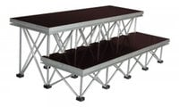 """Show Solutions Inc DD-4812R16  16"""" Stair Package with 2 Steps"""