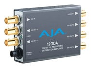AJA Video Systems Inc 12GDA  1x6 12G HD/SD SDI Reclocking Distribution Amplifier