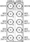Ross Video ADA8402BR2B 110 Ohm Rear Module For ADA-8402-A
