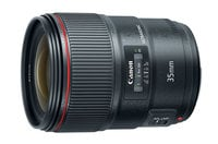 Canon EF 35mm f/1.4L II USM L Series Wide-Angle Prime Lens