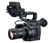 Canon EOS C200 8.85MP 4K RAW Digital Cinema Production Camera Body with LCD Monitor & Handgrip