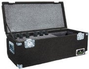 Grundorf Corp MC-24C/R Microphone Hard Case (Holds up to 24 Microphones) MC24CR-BLACK