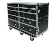 Elite Core Audio OSP PRO-WORK-SXS ATA Side by Side Drawer Case