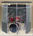 Clearsonic IPB Drum Shield Kit with Lid, 6 x 7 x 6.5 ft