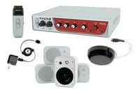 TeachLogic IRM-5150 (WM-4) Maxim III System, with Receiver/Mixer/Amp, IR Wireless Mic & Wall-Mount/Book Shelf Speakers