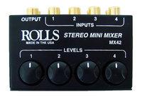 Rolls MX42 4-Input Passive Stereo Mini Mixer