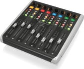 Behringer X-TOUCH Extender Control Surface with 8 Touch-Sensitive Motor Faders