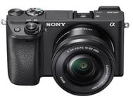 Sony ILCE6300L/B Alpha a6300 Mirrorless Digital Camera With 16-50mm Lens ILCE6300L/B