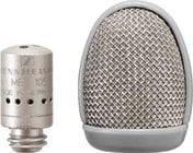 Microphone Capsule, Supercardioid, Black (Silver shown)