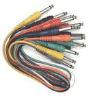 "Hosa CPP-845 Audio Cable, Unbalanced 1/4"" Male to 1/4"" Male, 1.5 Feet (Pack of 8) CPP845"