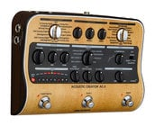 Zoom AC-3-ZOOM Acoustic Creator Preamp Pedal with Effects