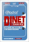 Radial Engineering DAN-RX  Dante DI receiver  DAN-RX