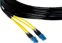 Camplex HF-TS02LC-0050 2-Channel Tactical Fiber Optical Snake 50 ft Fiber Optic Snake with LC Single Mode Connectors
