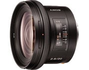 Sony SAL20F28 20mm, f2.8 Wide Angle Lens