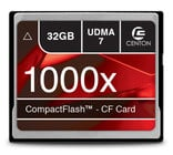 Centon S1-CF1000X-32G  1000x 32GB Compact Flash Card
