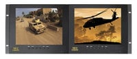 "ToteVision LED-803HD2  8"" LCD Monitor in 4RU Rack Mount LED-803HD2"