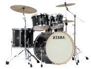 Tama CL52KSTPB 5 Piece Superstar Classic Maple Shell Pack in Transparent Black Burst Finish CL52KSTPB