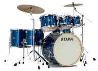 Tama CK72SISP 7 Piece Superstar Classic Maple Shell Pack in Indigo Sparkle Finish