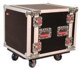 Gator Cases G-TOUR 10U CAST 10RU ATA Style Rack Case with Locking Caster Board G-TOUR-10U-CAST