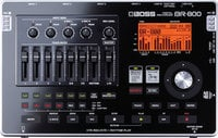 Boss BR800 [EDUCATIONAL DISCOUNT] Digital Recorder, 8-track (4-track simultaneous recording)