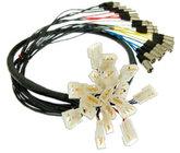 Pro Co QLS0400FEM-25 25 ft 4-Channel Quick Link Solution Snake, e3mc to XLRM