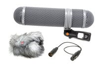 Shotgun Microphone Windshield and Shock Mounting Kit