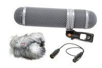 Rycote 010321 Super-Shield Kit, Medium Shotgun Microphone Windshield and Shock Mounting Kit
