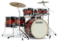 Tama CL52KSMHB 5 Piece Superstar Classic Maple Shell Pack in Mahogany Burst Lacquer Finish CL52KSMHB