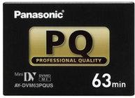 Panasonic AY-DVM63PQUS Professional Quality 63 Min. Mini DV Pro Cassette