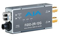 AJA Video Systems Inc FiDO-2R-12G  2-Channel Single-Mode LC Fiber to 12G-SDI Receiver  FiDO-2R-12G