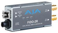 AJA Video Systems Inc FiDO-2R-MM 2-Channel Multi-Mode LC Fiber to 3G-SDI Receiver FiDO-2R-MM