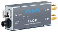 AJA Video Systems Inc FiDO-R-MM  1-Channel Multi-Mode LC Fiber to 3G-SDI Receiver  FiDO-R-MM