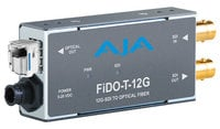 AJA Video Systems Inc FiDO-T-12G  1-Channel 12G-SDI to Single-Mode LC Fiber Transmitter