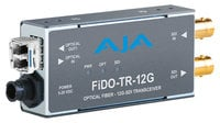 AJA Video Systems Inc FiDO-TR-12G  1-Channel 12G-SDI/LC Single-Mode LC Fiber Transceiver  FiDO-TR-12G