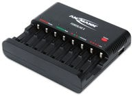 Ansmann USA Powerline 8 8-Bay Battery Charger for NiMH/NiCad AA & AAA Batteries