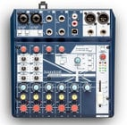 Soundcraft NOTEPAD-8FX 8-Channel Small-Format Analog Mixing Console with UWB I/O and Lexicon Effects