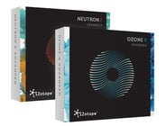 iZotope O8N2-BUNDLE Ozone 8 Advanced + Neutron 2 Advanced Bundle [DOWNLOAD] Professional Audio Mastering Software Collection