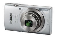 Canon POWERSHOT-ELPH180 PowerShot ELPH 180 Silver 20MP 8x Optical Zoom Point & Shoot Digital Camera in Silver