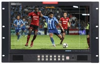 "Datavideo Corporation TLM-170LR  17.3"" 3G-SDI Full HD LCD Monitor - 7U Rackmount Unit"