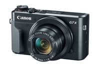 Canon PowerShot G7 X Mark II 20.1 MP Compact Digital Camera in Black