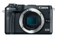 Canon EOS M6 Kit 24.2MP M6 Camera Body in Black with Battery Pack
