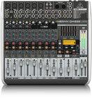 Behringer QX1222USB 12-Ch 2/2Bus USB Mixer, with Klark Teknik FX QX1222USB